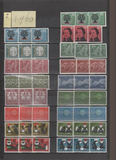 Federal Republic of Germany 1960/1982 - Collection on stock pages