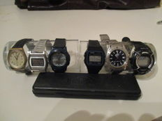 Collection of 6 men's watches