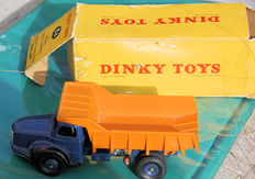 Dinky Toys-France - 1/48 scale - Berliet dump quarries No.34A