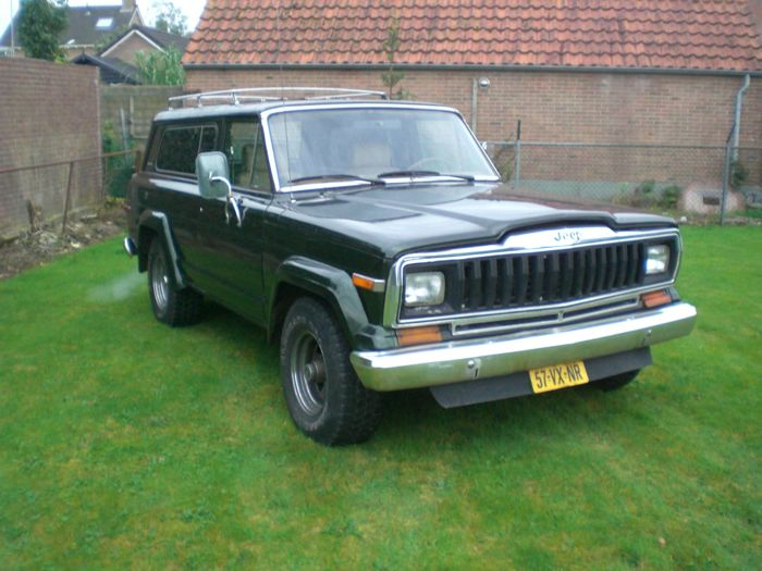jeep - cherokee chief 4x4 5.2 v8 - 1982 - catawiki