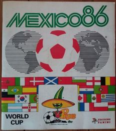 Panini - Mexico 86 - Incomplete album