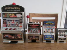 Four slot machines - 21st century