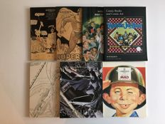 Collection Of Rare Christies & Sotheby's Comics & Comic Art Auction Catalogs - 7x sc - 1st prints - (1992/2000)
