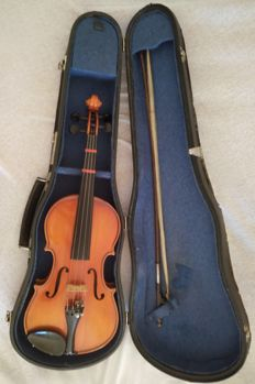 Antique 3/4 violin with internal inscription '' Lutherie Gewa France '' - Year 1900/1940