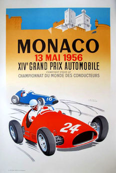 J. Ramel - Grand Prix Automobile de Monaco (1956) - 1987