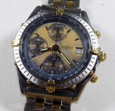 Breitling Chronomat B13047 - 20G Pilot - Steel + 18K Gold - 1990 - Men's Chronograph