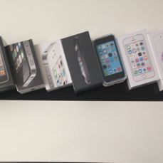 Iphone collection. 3G + 3GS + 4 + 4S + 5 + 5C + 5S + 6 and 6Plus.