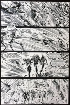 Original Comic Art - Vampirella - Page 23