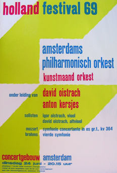Anonymous -  Holland Festival  -  1969