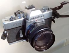 Minolta  SrT101b      1975 with original strap and bag