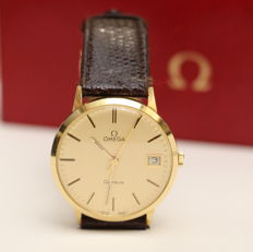 Omega Genève – 14 kt yellow gold – Men's watch – 1960s