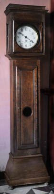 18th/19th century grandfather clock