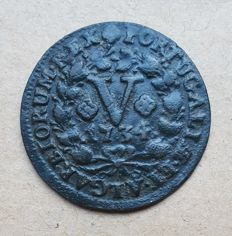 Portugal – V Reis 1734 – D. João V . Above Average