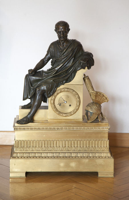 Bronze Cicero clock - 19th century