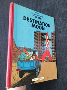 Tintin 16 - Destination Moon - hc - 1st Edition (1959)