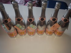 Champagne Rose Veuve Clicquot Rich - 6 bottles (75cl) in box