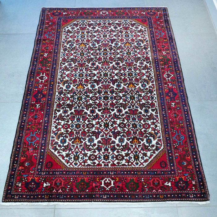 Magnificent Senneh Persian carpet - 148 x 105 - eye-catcher - great quality - magnificent design