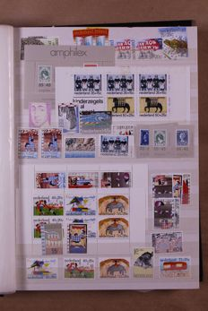 The Netherlands 1872/2000 - batch in 7 stock books and 4 FDC-albums.