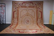 Needlepoint Aubusson approx. 360 x 267 cm