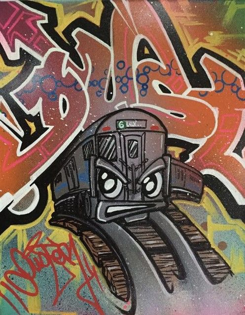"DUSTER - ""Train Face"""