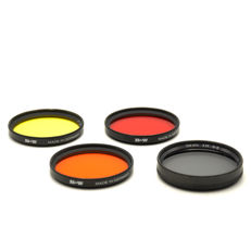 4 x Various B + W Filters 52 mm (1938)