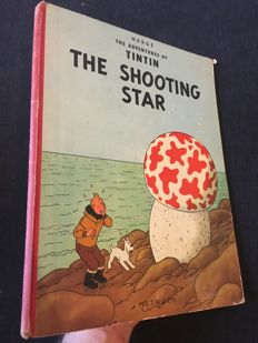 Tintin 10 - The Shooting Star - hc - 1st Edition (1961)
