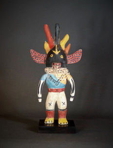 Nice KACHINA Doll from the HOPI Indians. Amerindians ; USA.