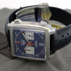 TAG Heuer – Monaco Steve McQueen – CAW211P.FC6356 – Men's watch – New – Warranty to be put together at the point of sale