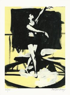"Žeželj, Danijel - 2x lithographs ""Dancers"" + 2 volumes ""La Peste"" and ""Amazzonia"" (1998)"