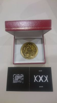 Freemasonry – Commemorative Union Lodge Venice medal
