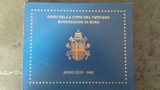 Vatican - Year set 2002 John Paul II
