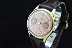 Montdor Chronograph – men's wristwatch – 1950s/1960s