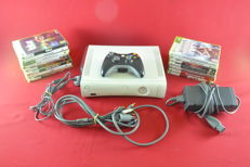 Microsoft Xbox 360 120GB with 15 games eg, GTA IV, Red Dead Redemption, Assassin's Creed and more