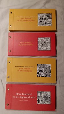 Marten Toonder; Lot with 4 Pfizer advertising booklets - 1999 / 2004