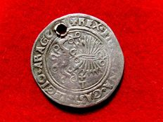 Spain - Catholic Monarchs (1474-1504), 1/2 silver real (3.13 g, 26 mm). 1494-1504. Toledo mint.