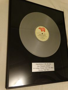 The Bee Gees Platinum Record award Saturday Night Fever Australia