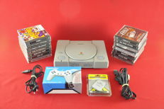 Sony Playstation with 15 games and Memory Card