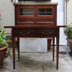 Writing desk in mahogany - France - 19th century