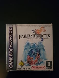 GBA Final fantasy tactics complete with manual