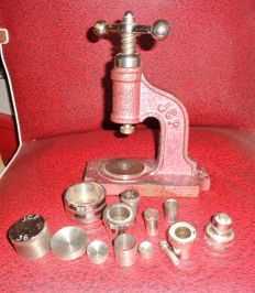 Former Haberdashery buttons press