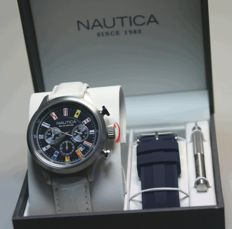 Nautica chronograph - men's wristwatch - never worn