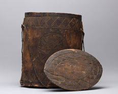 Rice box with cover - ZAFIMANIRY - Madagascar