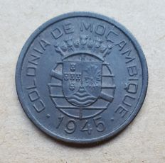 Portuguese Mozambique/Republic -- 50 Centavos, 1945 -- Excellent condition
