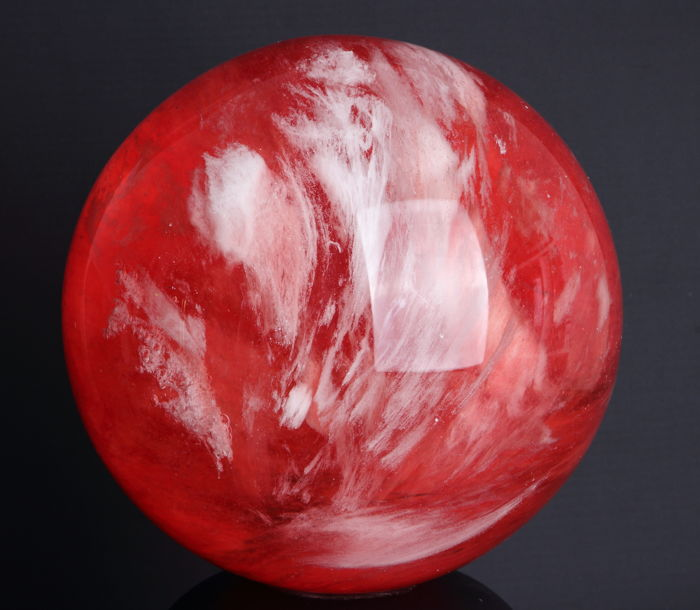 Best quality Strawberry Quartz - 12.80cm - 2440 gm