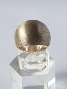 Nathalie Dmitrovic 925 silver ring - size: 17.75 mm.
