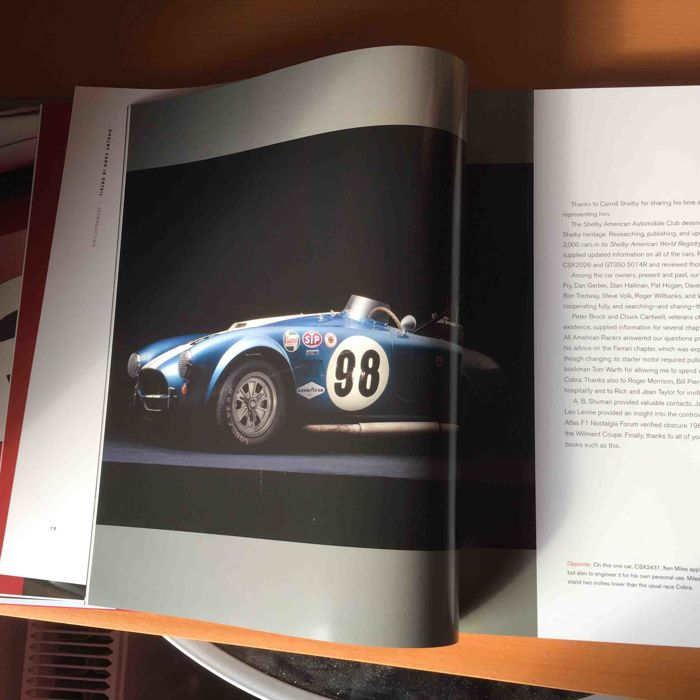 Cobra - Shelby Cars in Detail - lot of 6 books - Catawiki
