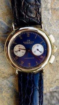 Claude Meylan, chronograph no 24 men's watch