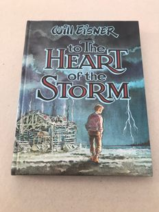 Kitchen Sink Press - To The Heart Of The Storm - Will Eisner - Signed Limited Edition Hard Cover - (1991)