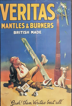 John Hassell - Veritas Mantless & Burners - ca 1930