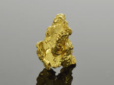 Gold Nugget Natural - 12 x 7.2 x 7.1 mm -  14.02 ct.